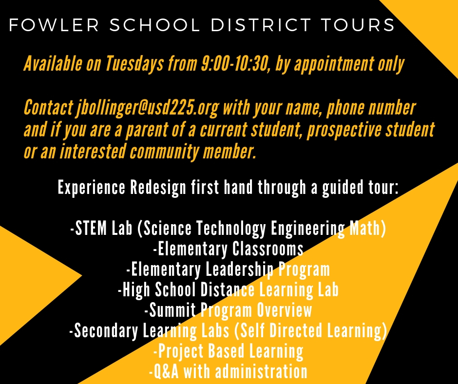 Fowler School District Tours